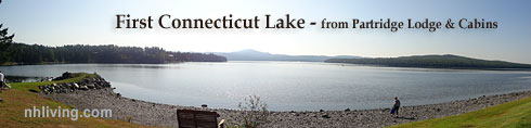 northern NH Lakeside Cabin rentals