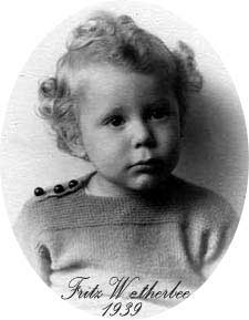 Fritz Wetherbee as a child  in 1939