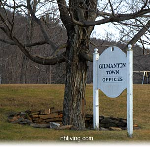 Town Offices, Gilmanton New Hampshire Lakes region