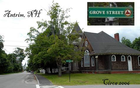 Grove Street, Antrim, NH, Merrimack Valley, NH