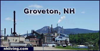Groveton Pulp Mill New Hampshire great north woods region