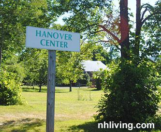 Hanover Center New Hampshire Dartmouth Lake Sunapee region