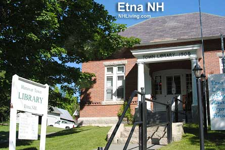 Town Library, Etna New Hampshire Dartmouth Lake Sunapee region