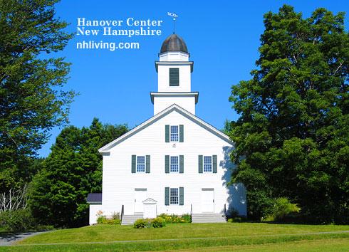 Hanover Center Church New Hampshire Dartmouth Lake Sunapee region