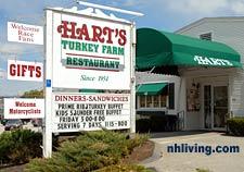 Hart's Turkey Farm Restaurant, Meredith NH, Since 1954