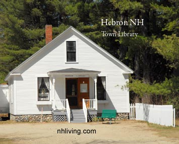 Hebron Library New Hampshire Lakes region