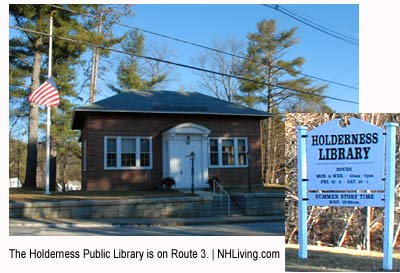 Town Librbary, Holderness New Hampshire Lakes region