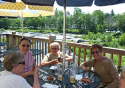 Some Lovely Ladies Enjoy Lunch at Miller's