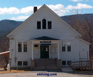 Town Hall, Landaff New Hampshire White mountains region