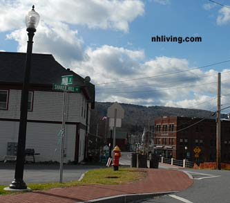 Main Street, downtown Enfield New Hampshire Dartmouth Lake Sunapee region