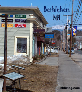 Main Street, Bethlehem, NH, White Mountains, NH