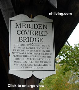 Covered Bridge, Meriden New Hampshire Lake Sunapee Dartmouth region