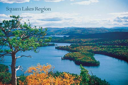 New Hampshire Squam Lakes