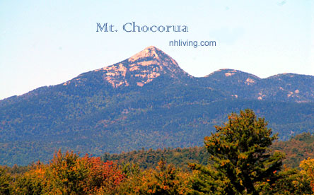 Mt Chocorua, Albany NH