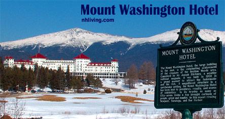 Mount Washington Hotel, Bretton Woods, NH White Mountains region New Hampshire