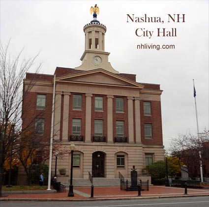 City Hall, Nashua New Hampshire Merrimack Valley region
