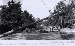 Nashua Hurricane 1938, Elliot Street