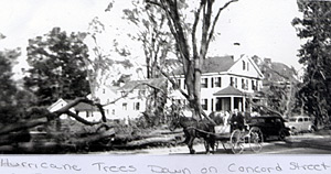 Nashua Hurricane 1938 - Concord Street