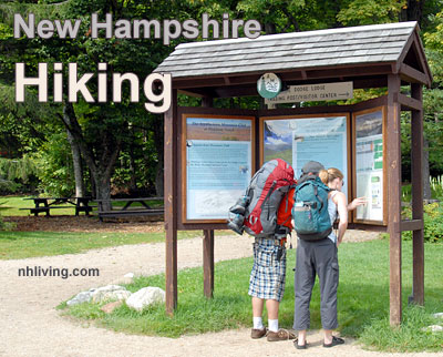 NH Hiking,NH Hikes, New Hampshire Hiking, trails, trail guide, walks, wood walks, hikes, Appalachian Trail, Long Trail, White Mountain Hikes