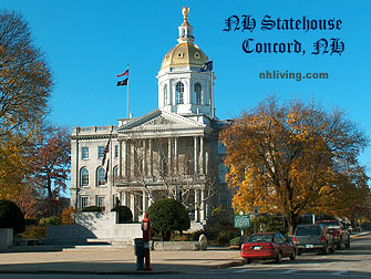New Hampshire State House Concord NH Merrimack Valley