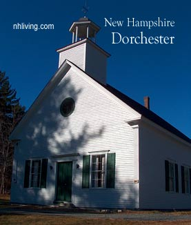 Dorchester church, Lake Sunapee NH