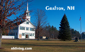 Grafton New Hampshire Dartmouth Lake Sunapee region