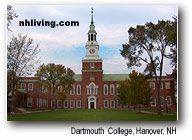 Dartmouth University Hanover New Hampshire Dartmouth Lake Sunapee region
