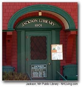 Town Library, Jackson New Hampshire White Mountains region
