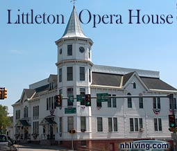 Opera House, Littleton New Hampshire White Mountains region