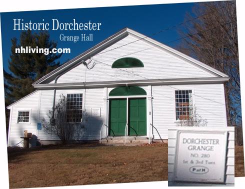Historic Dorchester Grange, Dorchester, NH