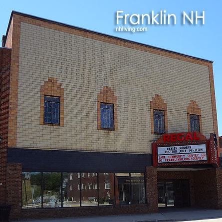 Regal Cinema, Franklin New Hampshire Lakes region