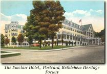 Sinclair Hotel, Bethlehem NH White Mountain New Hampshire