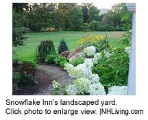 Snowflake Inn gardens