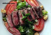 steak salad Six Burner Bistro