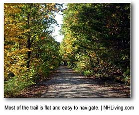 Northern Rail Trail System of NH Hiking