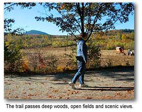 Scenic NH Hiking Trail the Northern Rail Trail System