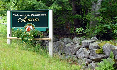 Welcome to Downtown Antrim, NH Merrimack Valley New Hampshire