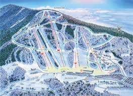 ski crotched map