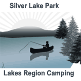 Silver Lake Park Campground Lakes Region luxury camping