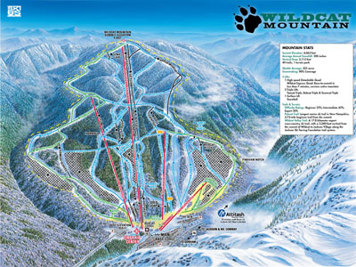 wildcat mountain ski map