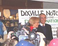 Wesley Clark, Dixville NH Votes