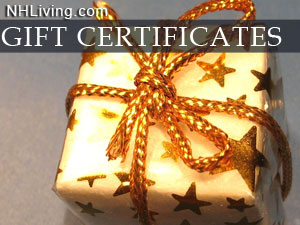 New Hampshire Gift Certificates