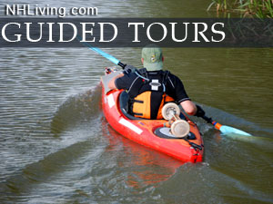new hampshire guided tours, NH outdoor guides