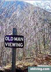 New Hampshire Old Man of the Mountain