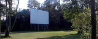 Northern Nights Drive-In Great North Woods New Hampshire attraction