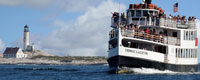 TIsle of Shoals Steamship Company Seacoast New Hampshire attraction