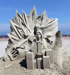 Sand Sculpting Competition