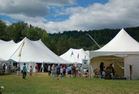 League of NH Craftsmen Show, Sunapee New Hampshire