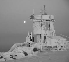 Historic photo of the Mt. Washington Observatory