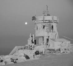 Historic photo of the Mt. Washington Observatory